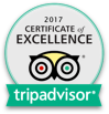 Sotosushi - tripadvisor certificate of excellence 2017